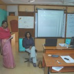 Dr Sridevi introducing Prof Surya at LAD Workshop